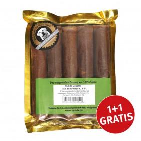 O'Canis Hundefutter Zigarre Rindfleisch 5 Stück + 5 Stück GRATIS