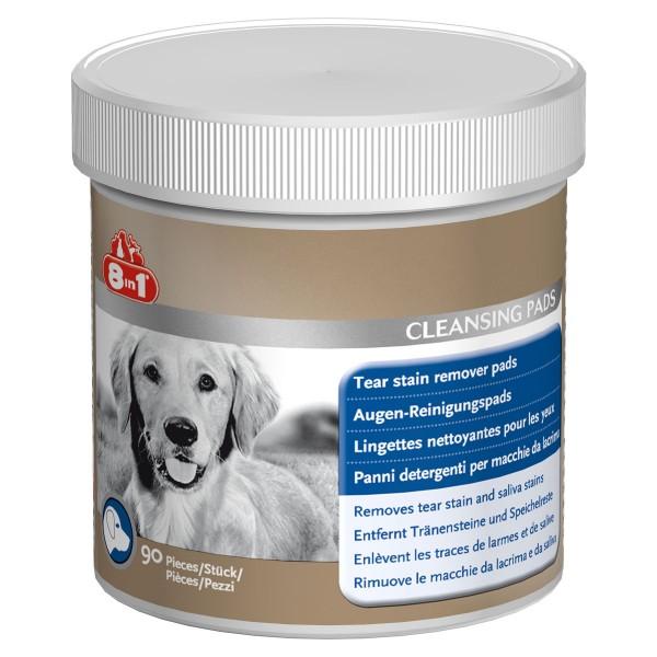 8in1 Hunde-Augen-Reinigungspads 90 Stk