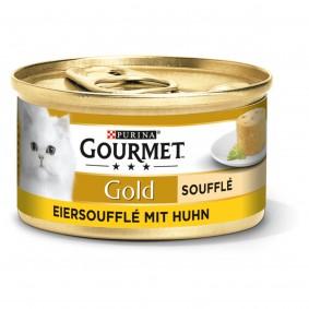 GOURMET Gold Soufflé Katzennassfutter mit Huhn