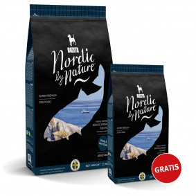 Bozita Nordic By Nature Bohuslandian Fish Pot 7,5kg plus 1,7kg gratis