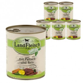 Landfleisch Dog Pur Pansen & Reis