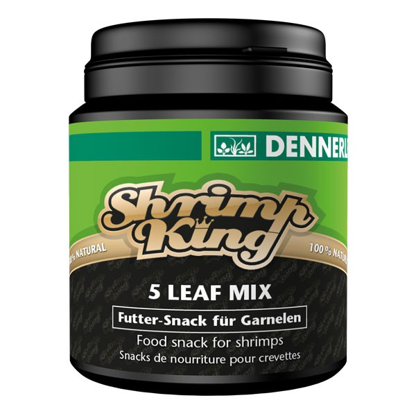 Dennerle Garnelenfutter Shrimp King 5 Leaf Mix 45g