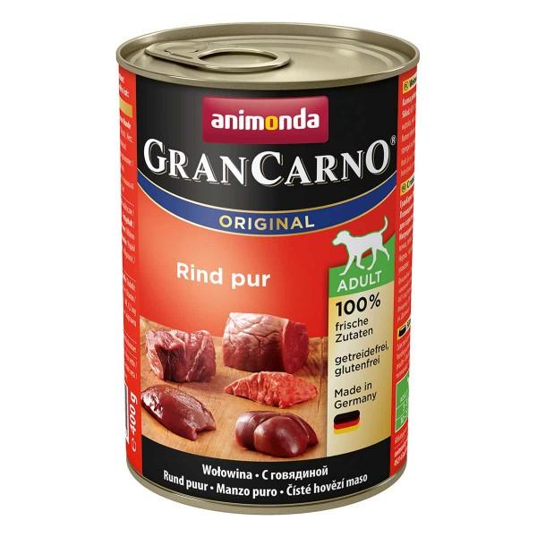 Animonda Hundefutter GranCarno Adult Rind Pur 6x400g