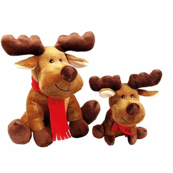 Wolters Xmas Hundespielzeug Plüschelch Rudolph