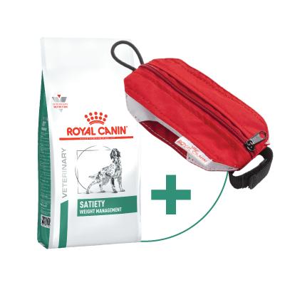 SATIETY Weight Management 1,5kg + Hundeleinen-Tasche