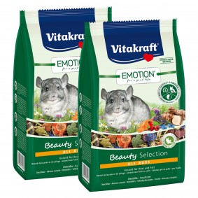 Vitakraft Emotion Beauty Selection Chinchillas 2x600g