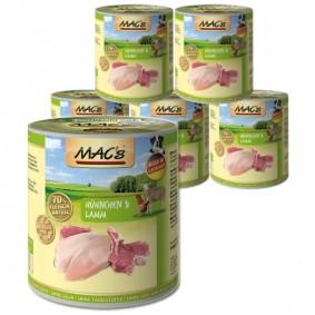 MAC's Dog Hundefutter Hühnchen & Lamm