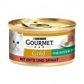 Gourmet Gold Feine Pastete Ente und Spinat