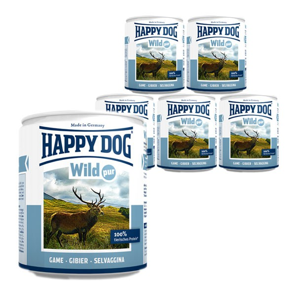 Happy Dog Wild Pur 6x800g