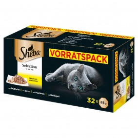 Sheba Selection in Sauce Schale Multipack 32x85g