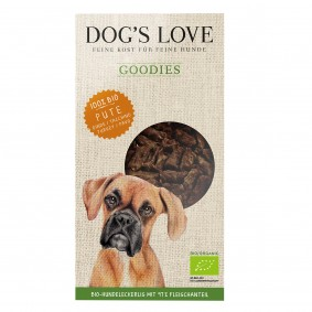 Dog's Love Goodies Bio-Pute 150g