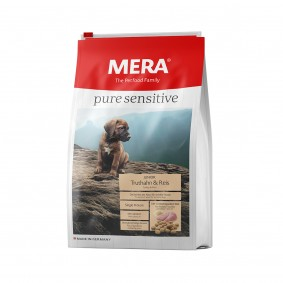 MERA pure sensitive Trockenfutter Junior Truthahn&Reis