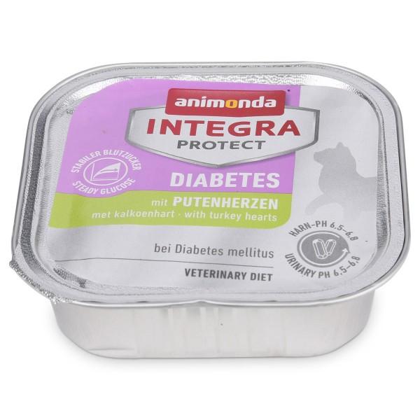 Animonda Katzenfutter Integra Protect Diabetes mit Putenherzen