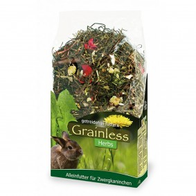 JR Farm Kaninchenfutter Grainless Herbs Zwergkaninchen