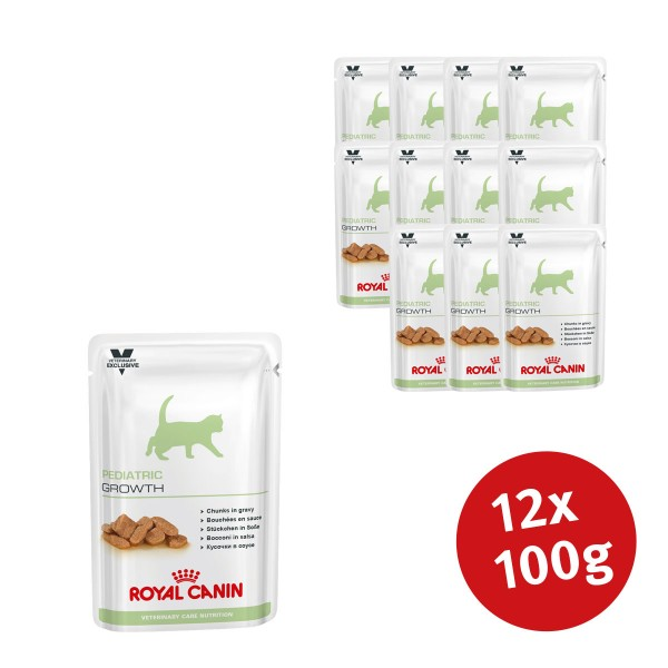 Royal Canin Vet Care Nassfutter Pediatric Growth - 12x100g jetztbilligerkaufen