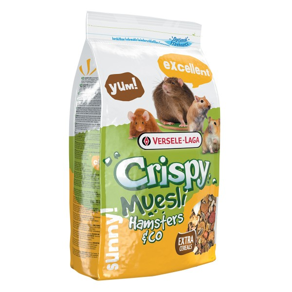 Versele Laga Crispy Muesli - Hamsters & Co