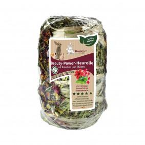 Hansepet Kleintierfutter Beauty-Power-Heurolle mit Kräutern & Blüten