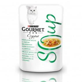 GOURMET Crystal Soup Köstliche Brühe mit Huhn und Gemüse