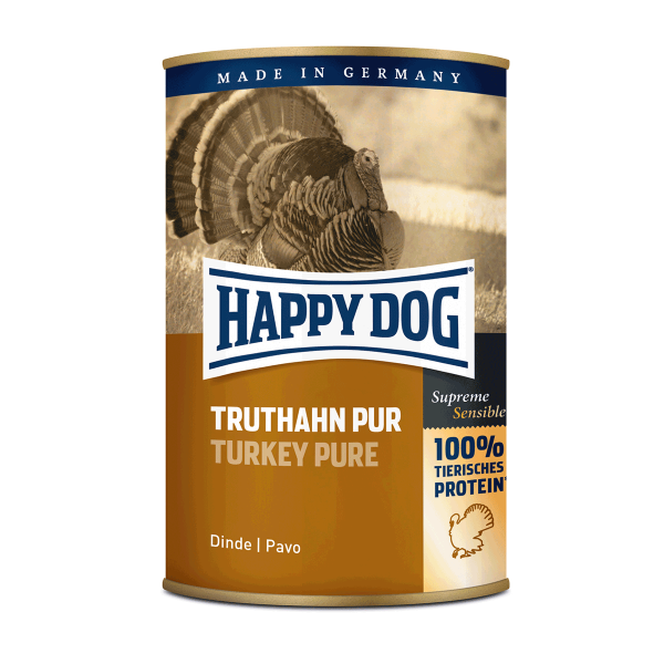Happy Dog Truthahn Pur 12x400g