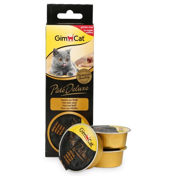 GimCat Pâté Deluxe mit Kalb 3x21g