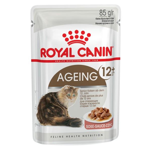 Royal Canin Katzenfutter Ageing +12 in Soße 85g