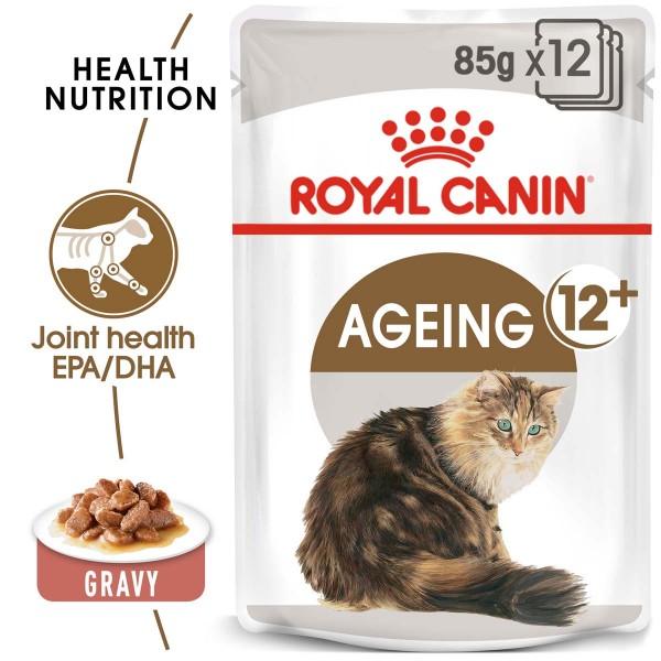 ROYAL CANIN AGEING 12+ in Soße Nassfutter für ältere Katzen