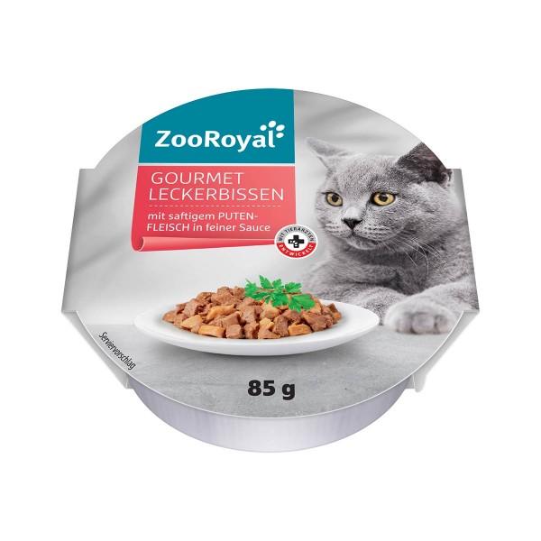 ZooRoyal Gourmet Leckerbissen mit saftigem Putenfleisch in feiner Sauce