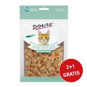 Dokas Mini-Steaks Lachs & Kabeljau