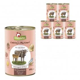 GranataPet Lieblingsmahlzeit Wildragout&Rind
