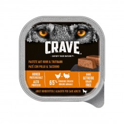 Crave Adult Pastete mit Huhn und Truthahn