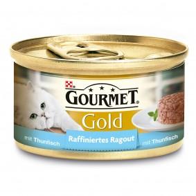 Gourmet Katzenfutter Gold Raffiniertes Ragout Thunfisch