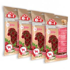 8in1 Minis Lamm & Cranberry 4x100g