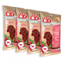 8in1 Minis Lamm & Cranberry 4x100g