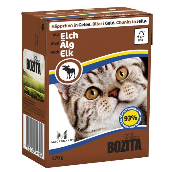 Bozita Häppchen in Gelee mit Elch 16x370g