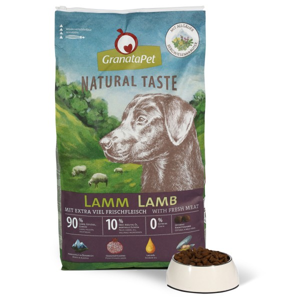 GranataPet Natural Taste Adult Lamm