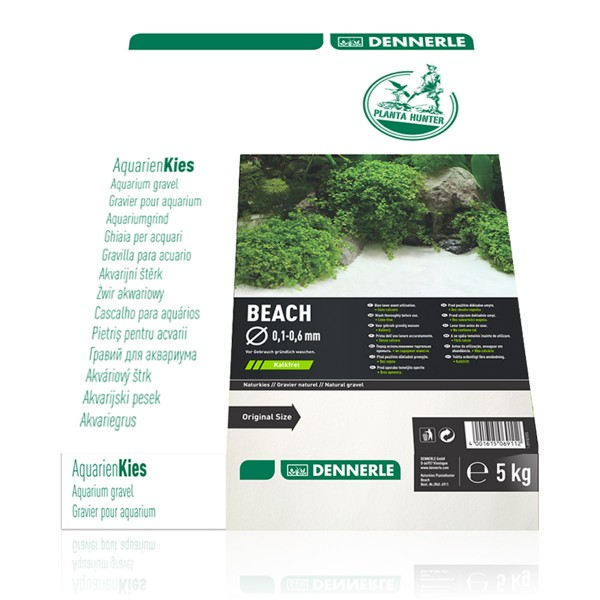 Dennerle Naturkies Plantahunter Beach 0,1-0,6mm 5kg