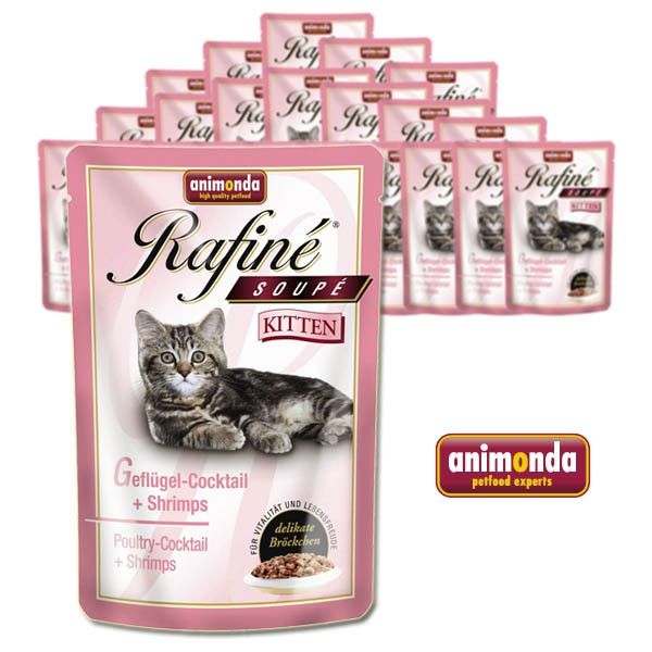 Animonda Rafine Soupe Kitten 24x100g