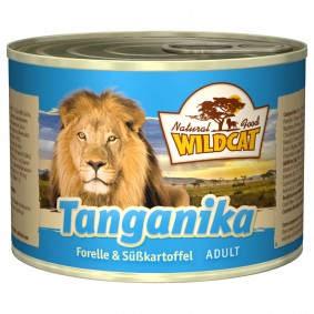 Wildcat Tanganika mit Forelle & Süßkartoffel
