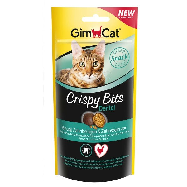GimCat Katzensnacks Crispy Bits Dental 40g
