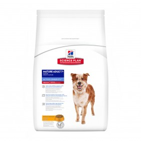 Hill's Science Plan Canine Active Longevity Mature Adult 7+ Medium mit Huhn 12kg