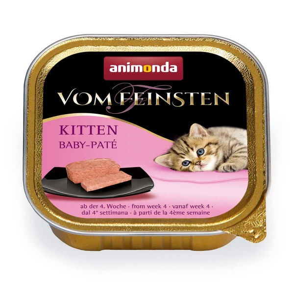 Animonda Katzenfutter Vom Feinsten Kitten Baby-Paté