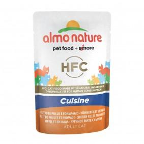 Almo Nature HFC Cuisine pouch Hühnerfilet und Käse
