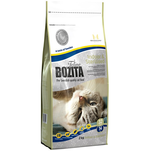Bozita Feline Adult Indoor & Sterilised