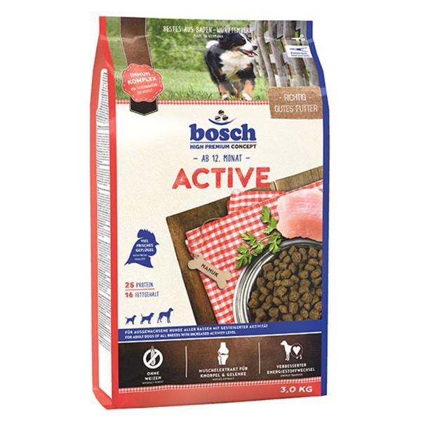 Bosch Hundefutter Active - 3kg