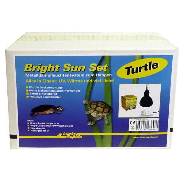 """Lucky Reptile Bright Sun Set """"Turtle"""" 70W"""