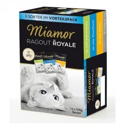 Miamor Ragout Royale Huhn, Thunfisch, Kaninchen in Jelly Multibox Adult