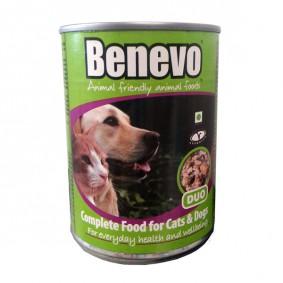 Benevo Hunde- und Katzenfutter Duo Vegan 369g