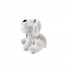 ZooRoyal Hundespielzeug Hund sitzend grau