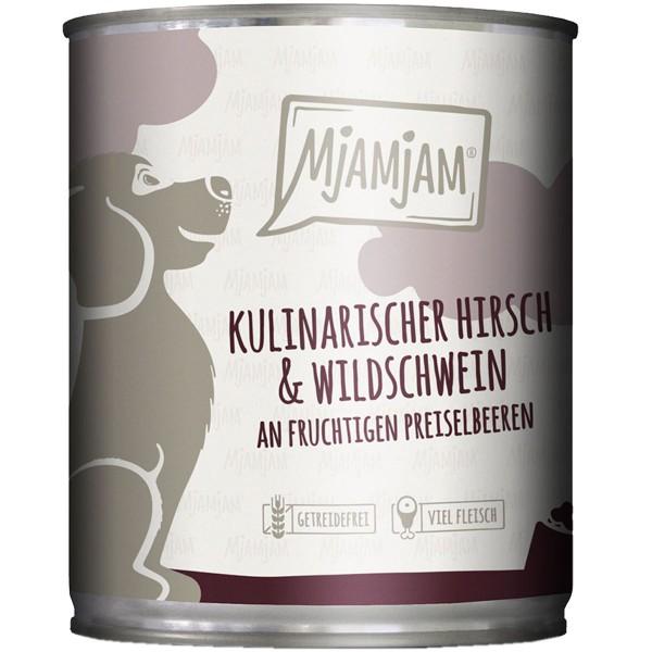 MjAMjAM kulinarischer Hirsch&Wildschwein an Preiselbeeren - 800g