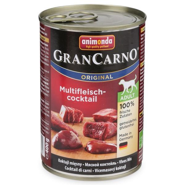 Animonda Hundefutter GranCarno Original Adult Multifleischcocktail